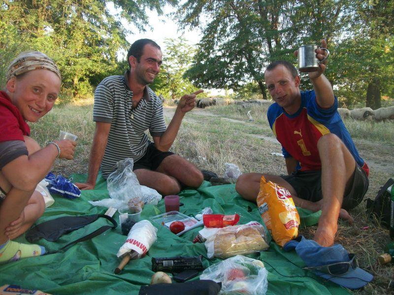 La tete dans le guidon dans 12 Bulgarie - Serbie 1001476